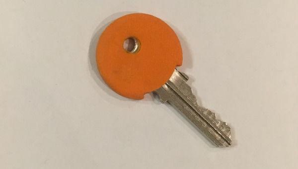 Couvre-clés ou capuchon couvre têtes de clés